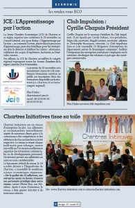 Article conf eco et congrès Chartres Métropole