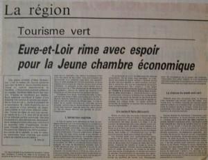 Développer le tourisme vert 1983