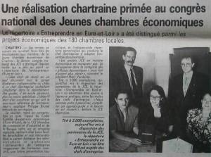 Entreprendre en Eure et Loir 1993