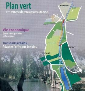 Plan vert pour l'agglomération 1977