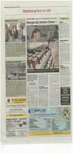 article sur marche 2012